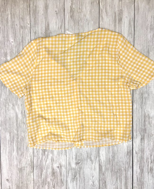 Hut 8 Spokane Clothes: Divided Checkered Button-up