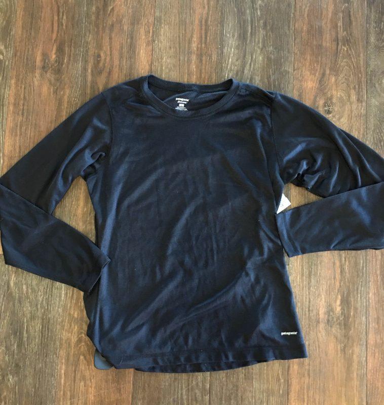 Hut 8 Spokane Clothes: Patagonia Long Sleeve